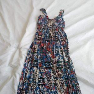 Multi color sun dress